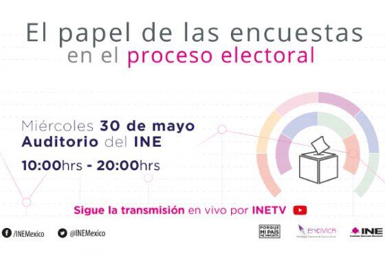 Foro el papel de las encuestas electorales en el proceso electoral