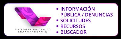 Plataforma nacional de transparencia. Información pública, solicitudes, recursos, buscador