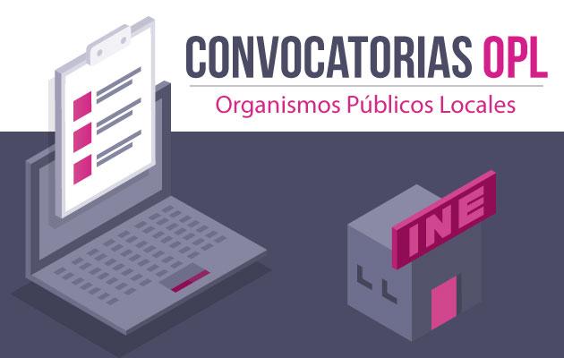 Convocatorias Organismos Públicos Locales